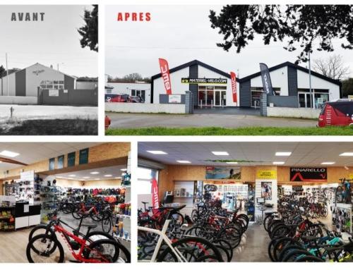 Création d'une enseigne Matériel-vélo.com
